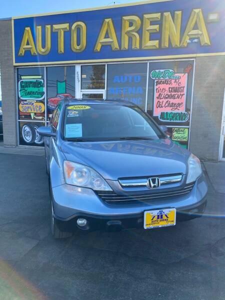 2008 Honda CR-V for sale at Auto Arena in Fairfield OH