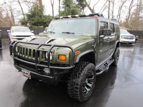 2004 HUMMER H2 for sale at LULAY'S CAR CONNECTION in Salem OR