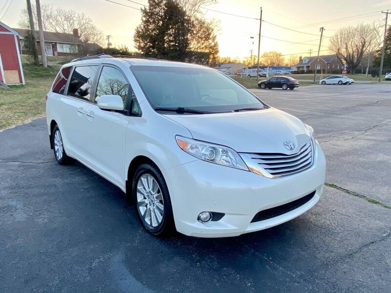 2014 Toyota Sienna for sale at ANZ AUTO CONCEPTS LLC in Fredericksburg VA