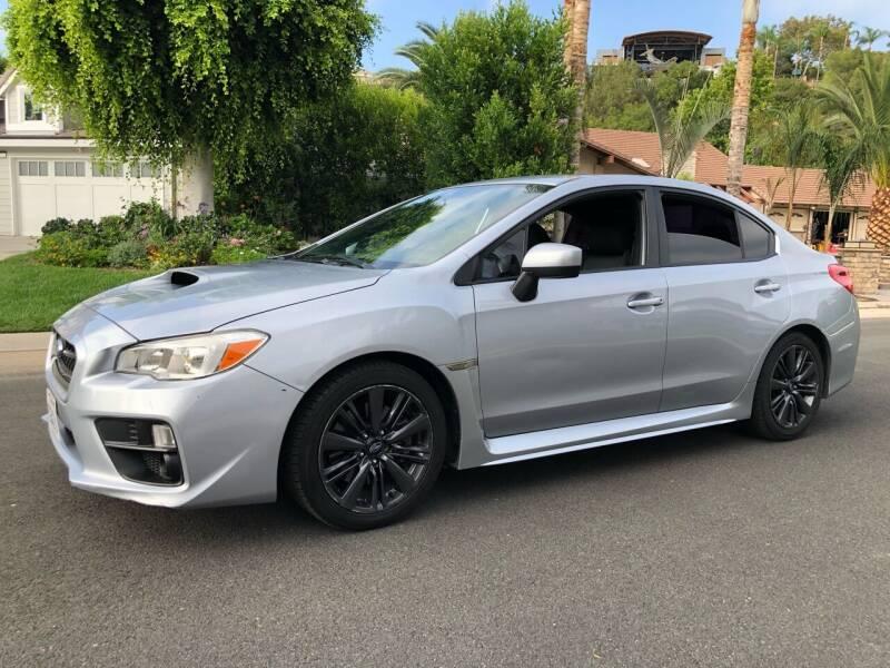 2015 Subaru WRX for sale at Carmelo Auto Sales Inc in Orange CA