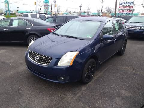 2008 Nissan Sentra for sale at Wilson Investments LLC in Ewing NJ