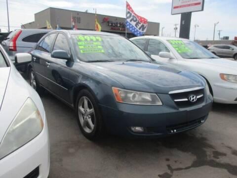 2007 Hyundai Sonata for sale at CAR SOURCE OKC in Oklahoma City OK
