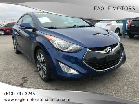 2013 Hyundai Elantra Coupe for sale at Eagle Motors in Hamilton OH