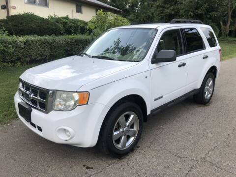 2008 Ford Escape for sale at Urban Motors llc. in Columbus OH