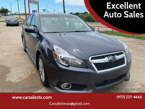 2014 Subaru Legacy for sale at Excellent Auto Sales in Grand Prairie TX