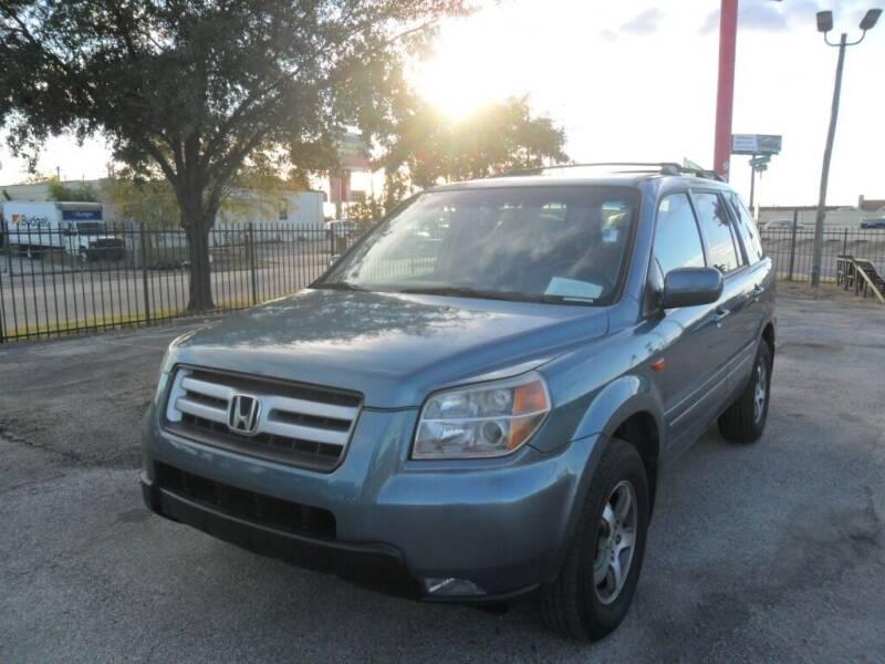 2008 Honda Pilot for sale at Talisman Motor City in Houston TX
