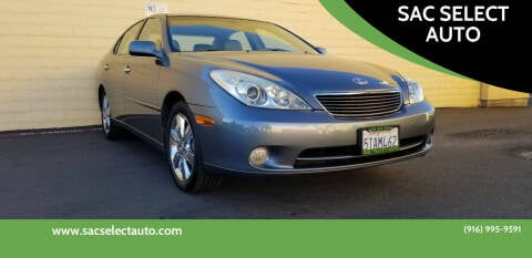 2006 Lexus ES 330 for sale at SAC SELECT AUTO in Sacramento CA