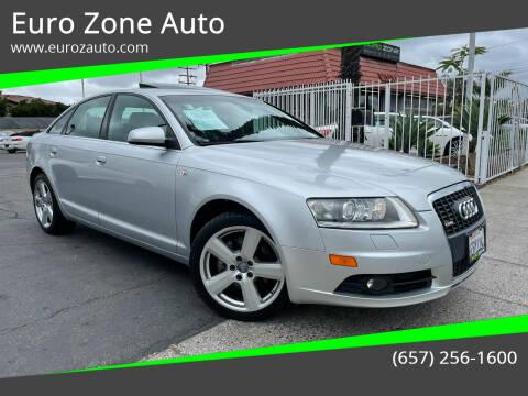 2008 Audi A6 for sale at Euro Zone Auto in Stanton CA