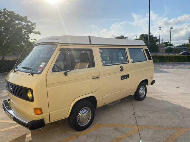 1981 Volkswagen Vanagon for sale at American Classics Autotrader LLC in Pompano Beach FL