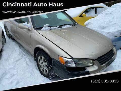 1998 Toyota Camry for sale at Cincinnati Auto Haus in Cincinnati OH