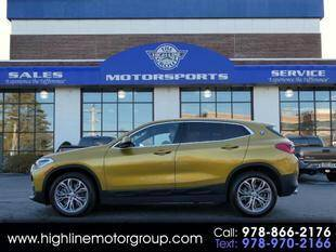 2020 BMW X2 for sale at Highline Group Motorsports in Lowell MA