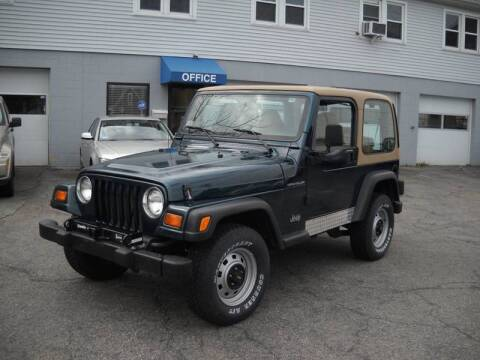 1998 Jeep Wrangler for sale at Best Wheels Imports in Johnston RI