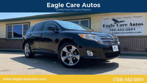 2009 Toyota Venza for sale at Eagle Care Autos in Mcpherson KS