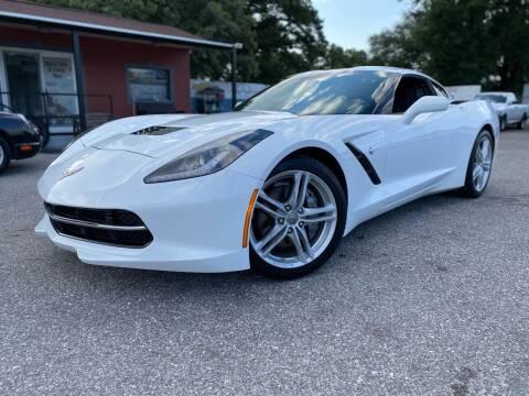 2016 Chevrolet Corvette for sale at CHECK AUTO, INC. in Tampa FL