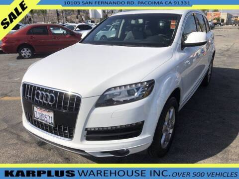 2015 Audi Q7 for sale at Karplus Warehouse in Pacoima CA