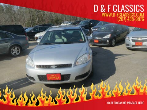 2013 Chevrolet Impala for sale at D & F Classics in Eliot ME