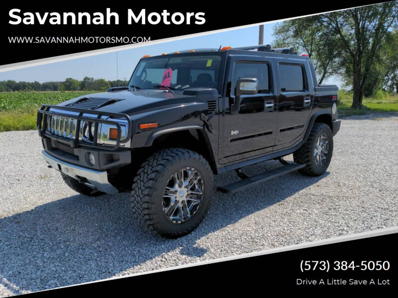 2006 HUMMER H2 SUT for sale at Savannah Motors in Elsberry MO