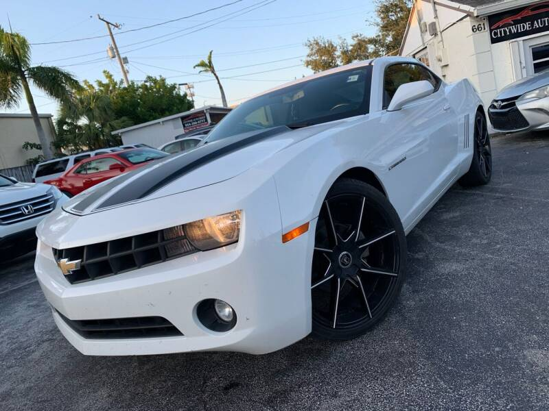 2012 Chevrolet Camaro for sale at Citywide Auto Group LLC in Pompano Beach FL