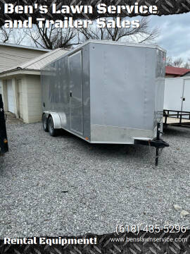 PaceAmerican 7'X16'EnclosedTrailer for sale at Ben's Lawn Service and Trailer Sales in Benton IL