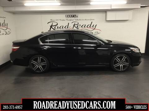 2016 Honda Accord for sale at Road Ready Used Cars in Ansonia CT