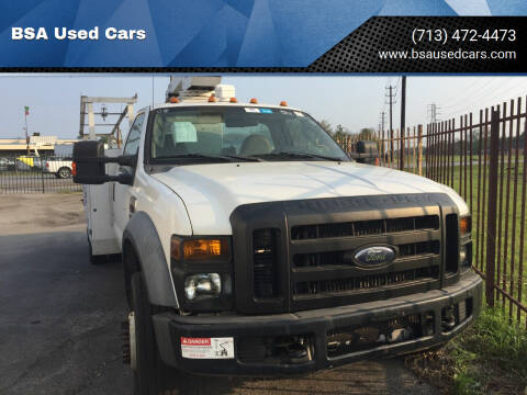 2008 Ford F-450 Super Duty for sale at BSA Used Cars in Pasadena TX