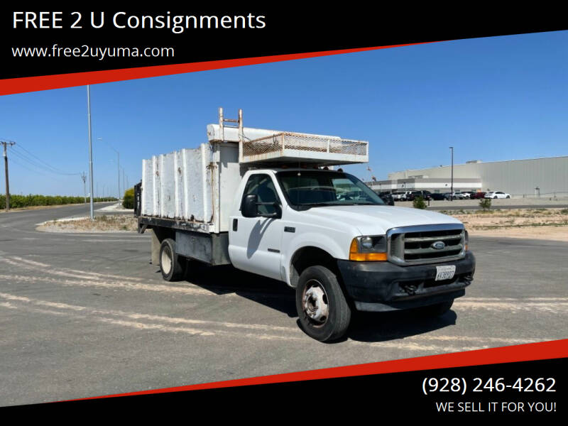 2001 Ford F-550 Super Duty for sale at FREE 2 U Consignments in Yuma AZ
