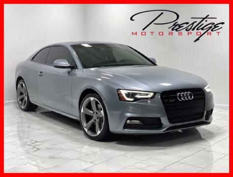 2015 Audi A5 for sale at Prestige Motorsport in Rancho Cordova CA