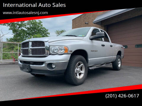 2004 Dodge Ram Pickup 1500 for sale at International Auto Sales in Hasbrouck Heights NJ