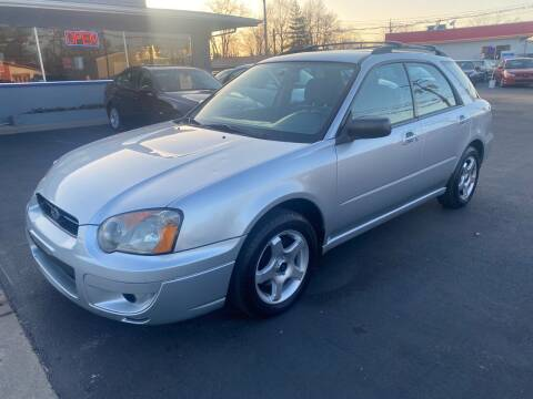 2004 Subaru Impreza for sale at Wise Investments Auto Sales in Sellersburg IN