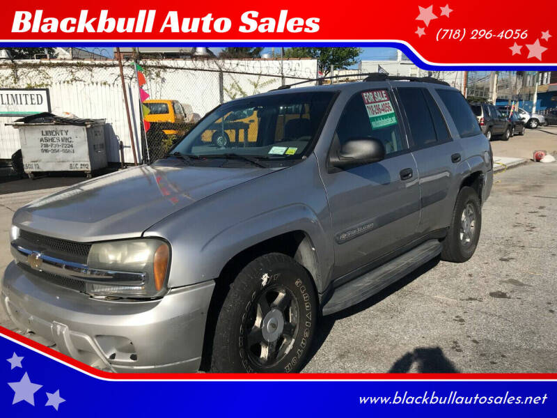 2004 Chevrolet TrailBlazer for sale at Blackbull Auto Sales in Ozone Park NY