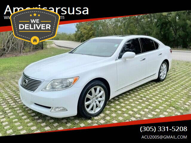 2008 Lexus LS 460 for sale at Americarsusa in Hollywood FL