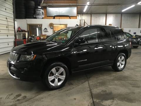 2014 Jeep Compass for sale at T James Motorsports in Gibsonia PA