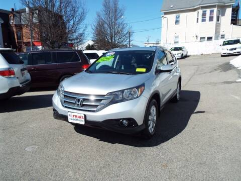 2014 Honda CR-V for sale at FRIAS AUTO SALES LLC in Lawrence MA
