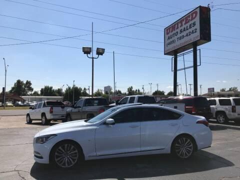 2015 Hyundai Genesis for sale at United Auto Sales in Oklahoma City OK