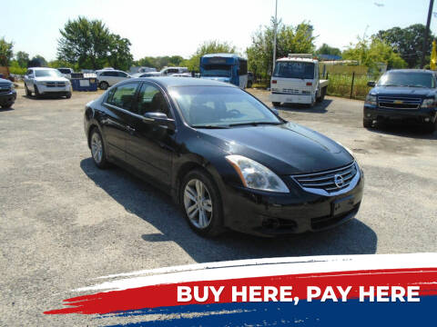 2010 Nissan Altima for sale at J & F AUTO SALES in Houston TX