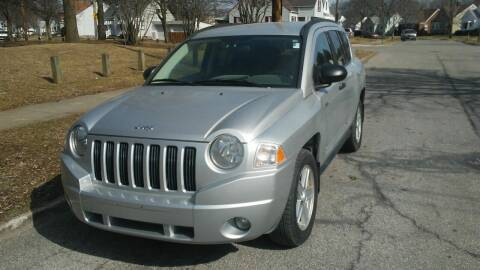 2008 Jeep Compass for sale at USA AUTO WHOLESALE LLC in Cleveland OH