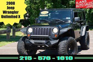 2008 Jeep Wrangler Unlimited for sale at Ilan's Auto Sales in Glenside PA