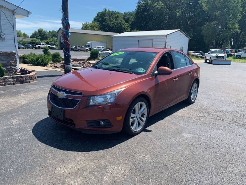 2013 Chevrolet Cruze for sale at EXPO AUTO GROUP in Perry OH