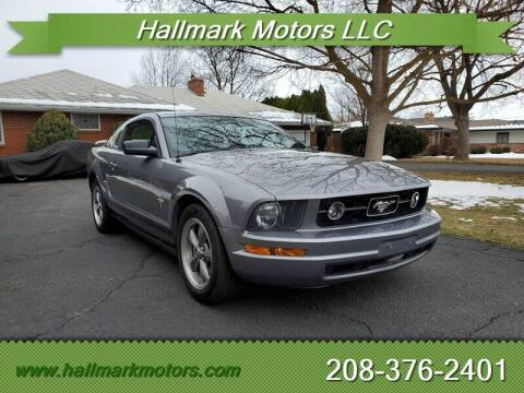 2006 Ford Mustang for sale at HALLMARK MOTORS LLC in Boise ID