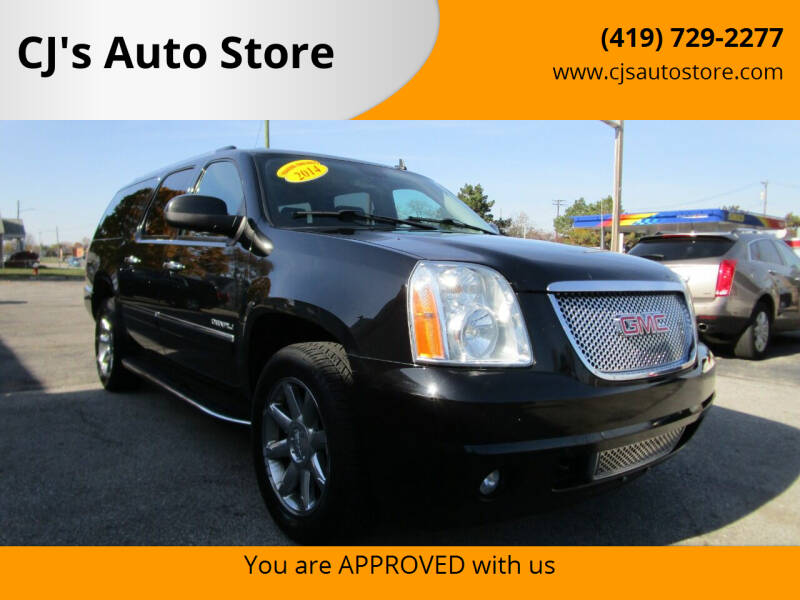 2014 GMC Yukon XL for sale at CJ's Auto Store in Toledo OH