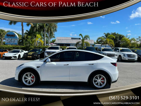 2021 Tesla Model Y for sale at Classic Cars of Palm Beach in Jupiter FL