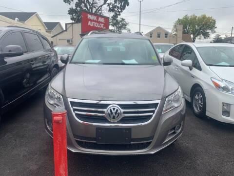 2009 Volkswagen Tiguan for sale at Park Avenue Auto Lot Inc in Linden NJ