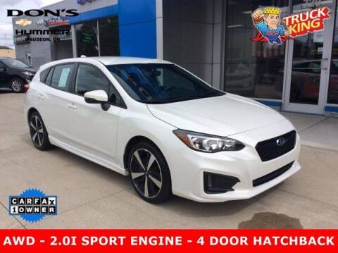 2019 Subaru Impreza for sale at DON'S CHEVY, BUICK-GMC & CADILLAC in Wauseon OH