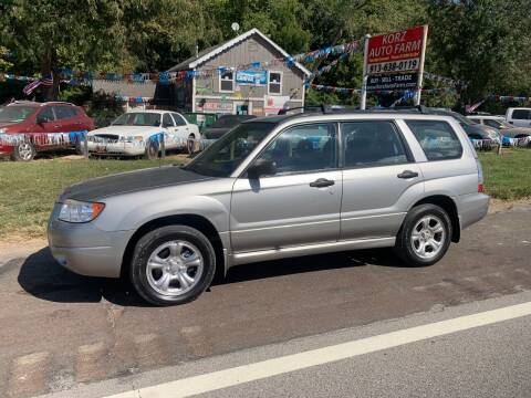 2006 Subaru Forester for sale at Korz Auto Farm in Kansas City KS