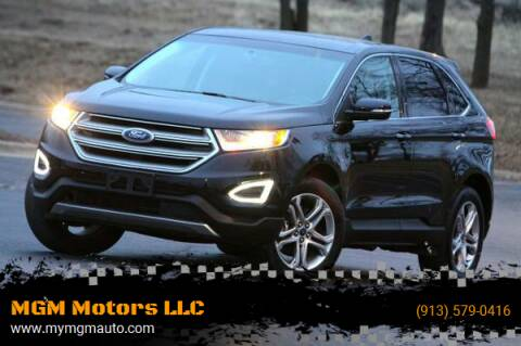 2018 Ford Edge for sale at MGM Motors LLC in De Soto KS