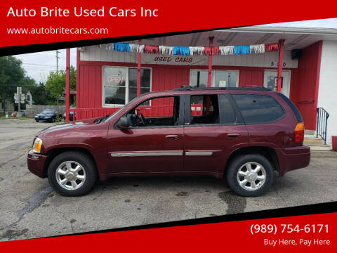 2003 GMC Envoy for sale at Auto Brite Used Cars Inc in Saginaw MI