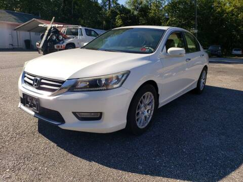 2013 Honda Accord for sale at Ona Used Auto Sales in Ona WV