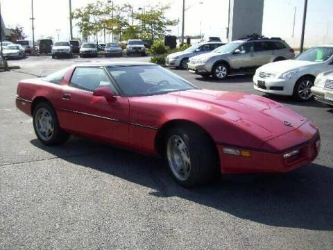 1990 Chevrolet Corvette for sale at Peninsula Motor Vehicle Group in Oakville Ontario NY