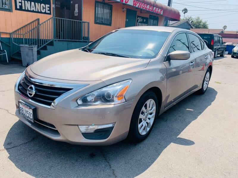 2015 Nissan Altima for sale at Westcoast Auto Wholesale in Los Angeles CA