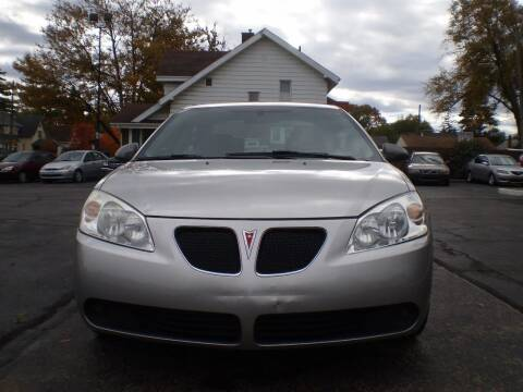 2006 Pontiac G6 for sale at DTH FINANCE LLC in Toledo OH